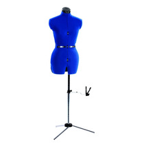Maniqui Mujer Vestido Altura Ajustable Costura Pm0