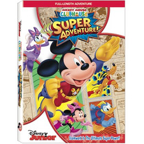 Mickey Mouse Súper Aventura/ Disney Junior Dvd/ Nuevo