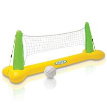 Juego Acuatico Inflable Voleibol Para Alberca Piscina Vbf