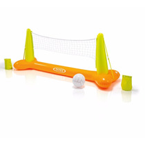 Juego De Voleibol Inflable Para Alberca Intex 2.39mx64x91cm