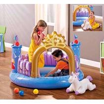 Castillos Inflables Princesas Con Pelotas Y Unicornio