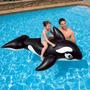Flotador Intex Bebés Niños Orca Ballena Gigante 193* 119 Cm