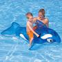 Flotador Intex Bebés Niños Orca Ballena Azul 152* 114 Cm