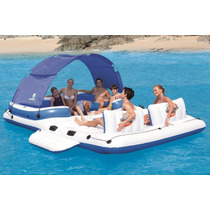 Isla Sala Patio Toldo Lounge Camastro Inflable 3.89mt E4f