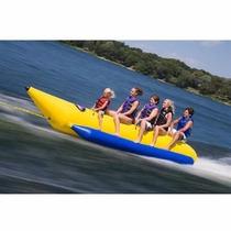 Banana Inflable Uso Comercial Para Playa 5 Personas Garantia