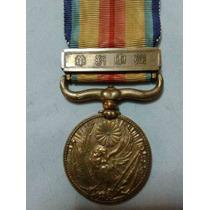 Medalla Japonesa Conflicto Con China Original