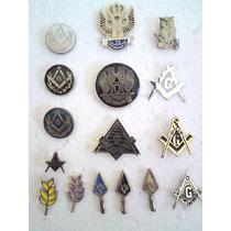 Coleccion De Pins Masonicos, Mason, Logia