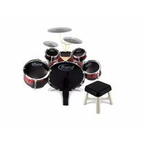 Bateria Musical Infantil 8 Piezas Band Jazz Drum Juguetes