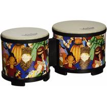Set Bongos Percusion Instrumento Musical Remo Kids