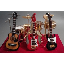 Batería Y Guitarras Coleccionable