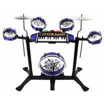 Set De Bateria Electronica Infantil My Frist Band 2 In 1