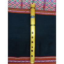 Quena De Bambu Marca Santiago. Instrumento Musical