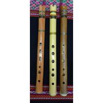 Quena De Bambu Marca Markama. Instrumento Musical De Viento