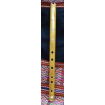 Quenacho De Bambu. Instrumento Musical Original De Bolivia