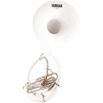 Tuba Sousafón Yamaha Blanco Abs En Bbb Ysh301-ii