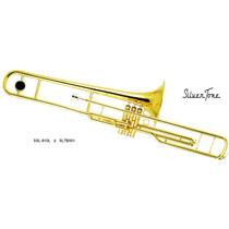 Trombon De Embolos En Do ( C ) Laqueado Sltb001
