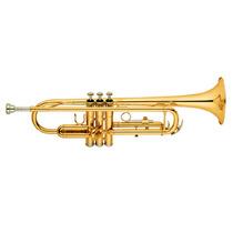 Trompeta Sib Blessing 6418l-m Laqueada Con Estuche, Nueva!