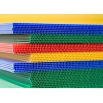 Coroplast Polipropileno Celular Varios Colores 4 Piezas