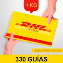 330 Guia Prepagada Dia Siguiente Dhl 1kg+recoleccion Gratis