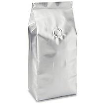 Bolsas Plateadas Aluminizadas Con Valvula Para Café 453 Gr.