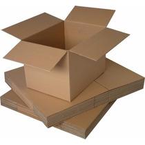 10 Cajas De Cartón Corrugado 15 X 15 X 15 Cms