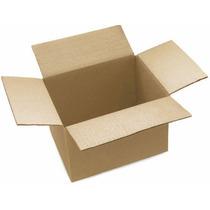 10 Cajas De Carton Corrugado 21.5x14.5x6.5 Largoxanchoxalto