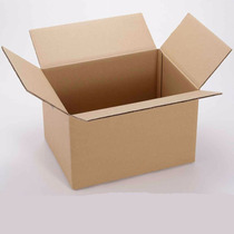 25 Cajas De Cartón Corrugado 16x12x8 Cms (largoxanchoxalto)