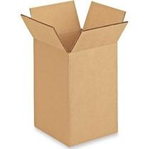 Cajas De Carton 6x6x8 Paquete Con 10