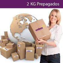 2 Kg Prepagados Unibox, Compra En Usa Y Recibe En Tu Casa.