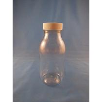 Envase De Plastico Lechero De 250ml Pet C/tapa Rosca