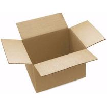10 Cajas De Cartón Corrugado 16x12x8 Cms (largoxanchoxalto)