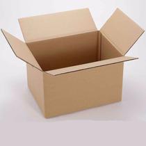 10 Cajas De Cartón 22 X 12 X 10cms (largoxanchoxalto)