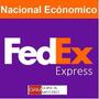 Guias Prepagadas 10kg Fedex Terrestre Nacional !!!!