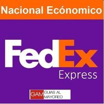 Guias Prepagadas 15kg Fedex Terrestre Nacional !!!!