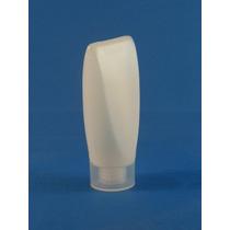 Envase De Plastico De 45ml Invertido Natrual C/tapa Rosca