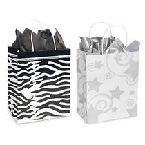 Paquete De 250 Bolsas Tipo Diseñador Para Boutique Y Tiendas