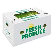 15 Cajas De Carton Para Frutas O Verduras Carga 22 Kilos