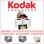 Kit Para 1140 Fotos. Impresora Kodak 6800, 6850 Y 605.