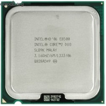Procesador Intel Core 2 Duo E8500 3.16ghz 6mb Slb9k Slapk