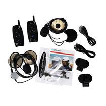 Intercomunicador Bluetooth Para Casco De Moto Hasta 1000m