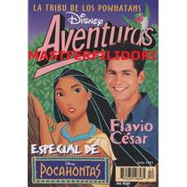 Flavio Cesar Revista Disney Aventuras Julio 1995 Fey Thalia