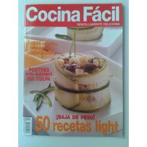 Revista Cocina Facil 50 Recetas Light