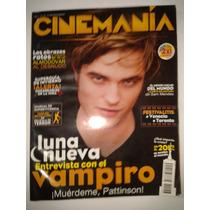 Revista Cinemania Luna Nueva, Entrevista Con El Vampiro Op4