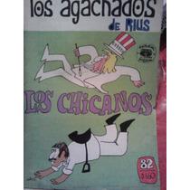 Los Chicanos, Serie Los Agachados #82, Rius, Ed Posada, 1971