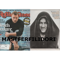 Heath Ledger Revista Rolling Stone Usa Marzo 2006