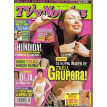 Thalia En Revista Tvynovelas No. 26 Año Xxiii $ 80.00