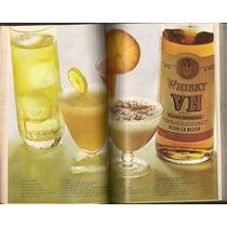 Raro Recetario Bebidas Ron Bacardí En Revista 1973 Ndd