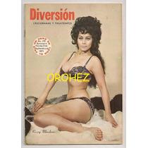 Rossy Mendoza Preciosa En Revistas Diversión De 1971-73