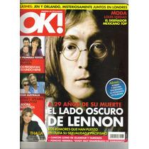 Revista Ok! Presenta: El Lado Oscuro De Lennon $80.00