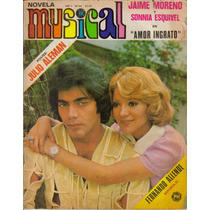 Fotonovela Musical: Jaime Moreno Y Sonnia Esquivel